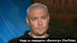 Міраслаў Лазоўскі (кадр зь перадачы тэлеканалу Белсат)