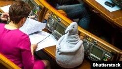 Почекун під час сесії Верховної Ради України, березень 2017 року (ілюстраційне фото)