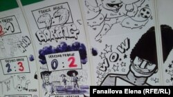 Евро-2012 и Чехия: футбольные граффити