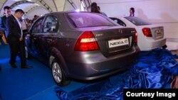 Презентация автомобиля Nexia (R3) в Казахстане, архивное фото.