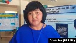 Фердауси мектебінің директоры Жанар Мамырова