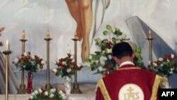 مسیحیان عراق طی ماه های اخیر شاهد خشونت هایی بوده است. عکس از AFP