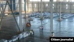Навоий халқаро аэропорти божхона омборхонаси (иллюстратив сурат)