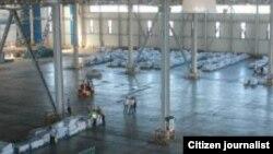 Таможенный склад международного аэропорта «Навои».