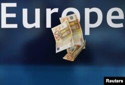 Ilustracija, kriza eura