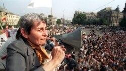 Doina Cornea vorbind în iunie 2005 despre mineriada din 1991