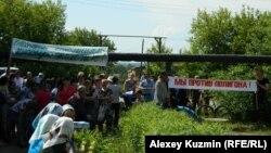 Жители Горномарийского района протестуют против строительства полигона
