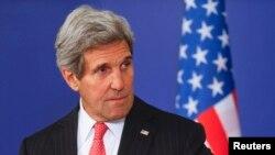АҚШ мемлекеттік хатшысы Джон Керри. Болгария, 15 қаңтар 2015 жыл.