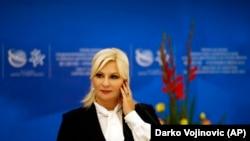 Zv. kryeministrja serbe, Zorana Mihajloviq