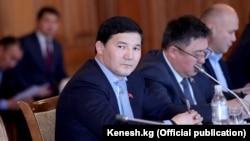 Kyrgyz deputy Damirbek Asylbek-Uulu (file photo)