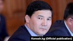 Депутат парламента Кыргызстана Дамирбек Асылбек уулу.