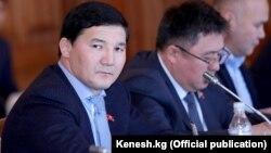 Қырғыз парламентінің мүшесі Дамирбек Асылбекуулу