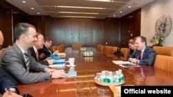 Фотография - пресс-служба МИД Армении