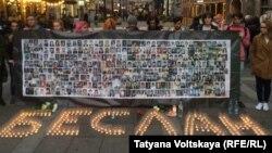 Ежегодно в Санкт-Петербурге проходит акция памяти по погибшим в Беслане
