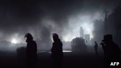 Пожежа на нафтобазі компанії «БРСМ-нафта» біля Василькова. 9 червня 2015 року