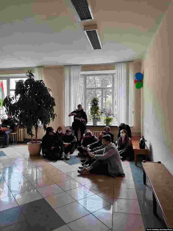 Сидячая забастовка в БГТУ
