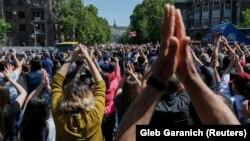 تظاهرات روز چهارشنبه در ایروان