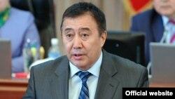 Қырғызстан вице премьер-министрі Абдырахман Маматалиев.
