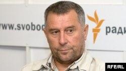 Руслан Кутаев в студии Радио Свобода