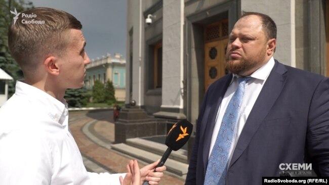 Стефанчук: інформацію про вплив Коломойського на «Слугу народу» є «гіперболізованою»