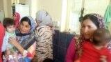 نساء وأطفال نازحون - بغداد 30 تموز 2014