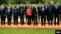 Մեծ յոթնյակի նախորդ գագաթնաժողովի մասնակիցները, Բավարիա, Գերմանիա, 7-8-ը հունիսի, 2015թ․
