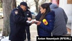 Крым, задержание журналистов СТБ