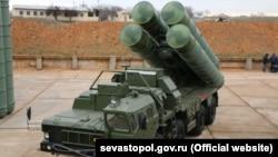 С-400 зенит-ракета комплекси.