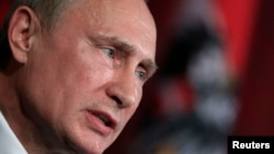 Оьрсийчоьнан президент Путин Владимир