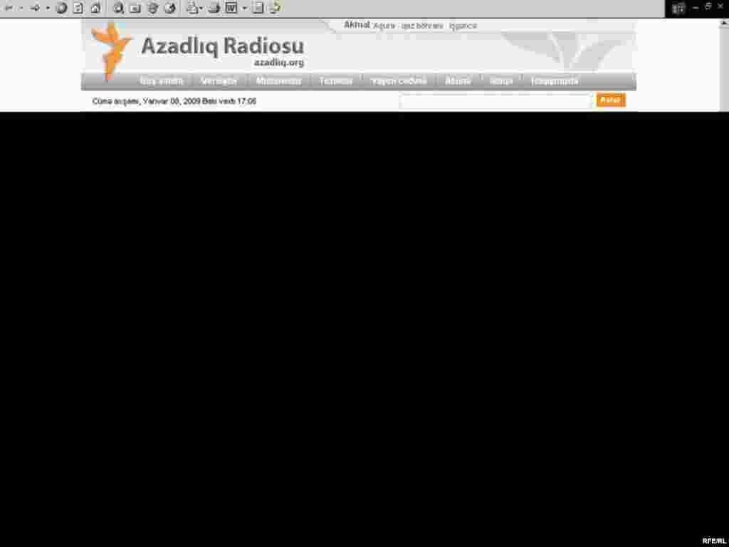 «Azadlıq» radiosunu internetdə necə dinləməli #1