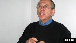 Азаматтық белсенді Тахиржан Ахметов.