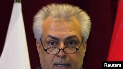 Iraqi Oil Minister Abdul Kareem Luaibi