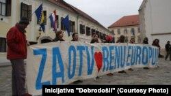 Protest u Zagrebu
