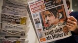 Liderul Pegida, Lutz Bachmann - sosia lui Hitler