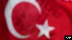 Türkiyə bayrağı.