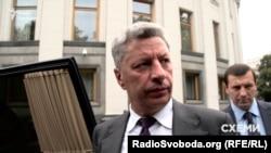 Народний депутат від «Опозиційного блоку» Юрій Бойко