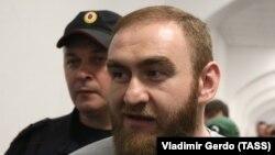 Рауф Арашуков в Басманном суде, 27 июня 2019 г.
