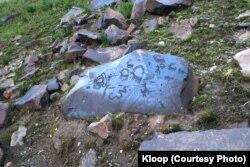 Петроглифы в национальном парке Саймалуу-Таш