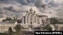 Проект нового собора в Сретенском монастыре
