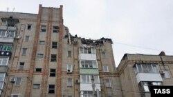 Зруйнований будинок у місті Шахти, Ростовська область, Росія