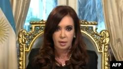 Кристина Фернандес, президент Аргентины.