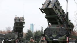 Patriot missile batteries
