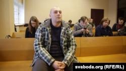 Андрэй Бяляўскі ў судзе, 11 студзеня 2018 году