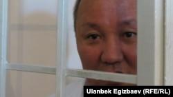 Kyrgyzstan -- Court trial of Former Bishkek Mayor Nariman Tuleev, Bishkek, 28 July, 2013.