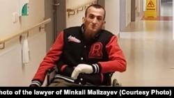 Минкаил Мализаев после нападения в апреле 2018 года