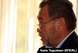 Адвокат Аманбай Беймаганбет. Алматы, 10 сентября 2012 года.