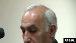 Armenia -- Levon Avagian, the schoolteacher at the center of a sex abuse scandal, speaks at the start of his trial, 26 April 2010.