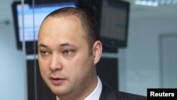 Maksim Bakiev, the son of Kyrgyzstan's deposed President Kurmanbek Bakiev, could be facing years in prison. (file photo)