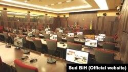 Bosnia-Herzegovina - State Court, courtroom, undated