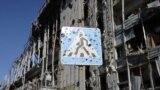 Опублікували нове відео з 9-поверхівки біля ДАПу, де російський журналіст у 2014-му показав цивільну літню жительку, а потім розповів про «ответку»